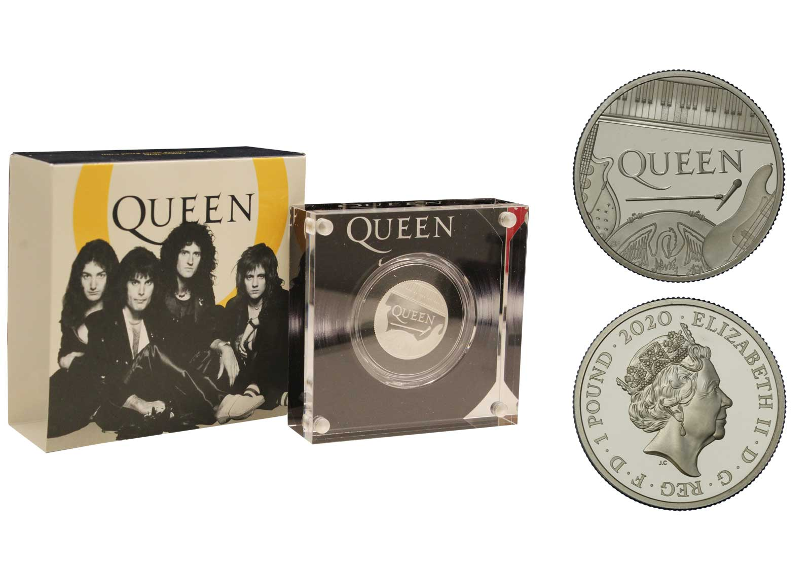 """Queen"" - 1 pound gr.15,71 in ag. 925/000"